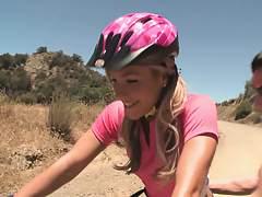 Teen tortured on the mountain bike trail