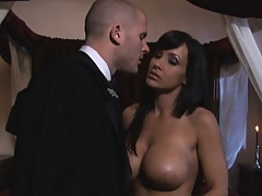 Hot chick has a dude play with her ass and pussy