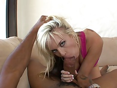 Jessica Steele sucking large black dick and looks like a true white whore