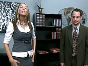 Kagney gets pissed at her fucking boss for sexual harrass