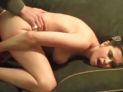 Doggy style Brandon Areana penetration and ramming
