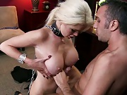 Bdsm titty fucking and blowjob from Alexis Ford