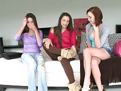 Celeste and her lesbian friends Hayden and Shyla