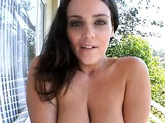 Big tits Natasha Nice and her bubble sweet tits