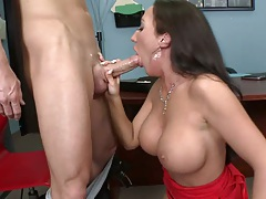 Big tits POV blowjob and titty fuck