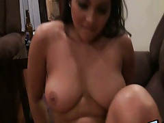 Big tits amateur gf AdriannaLexgf close up sex on home video